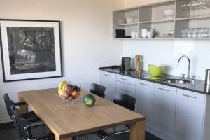 Dünenblick Apartments Helgoland Eigner Küche
