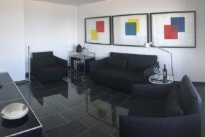Dünenblick Apartments Helgoland Eigner Wohnzimmer