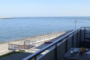 Dünenblick Apartments Helgoland Eigner Balkon Meer Leuchtturm