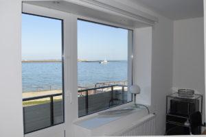 Dünenblick Apartments Helgoland Eigner Fenster Meer
