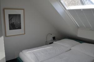 Dünenblick Apartments Helgoland Nautilus Schlafzimmer