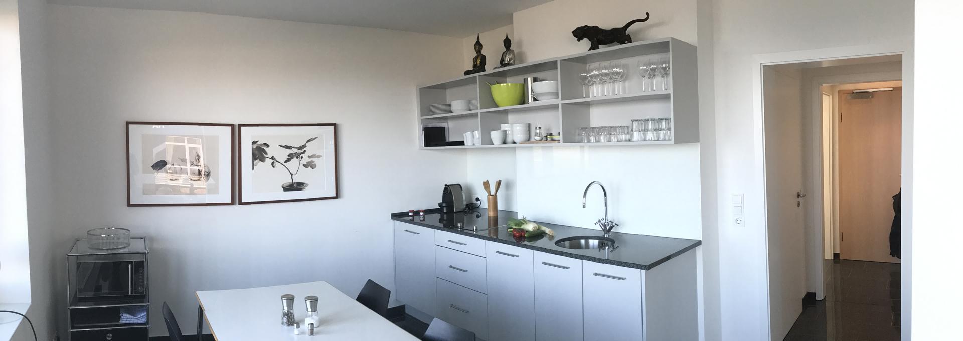 Dünenblick Apartments Helgoland Siam Küche