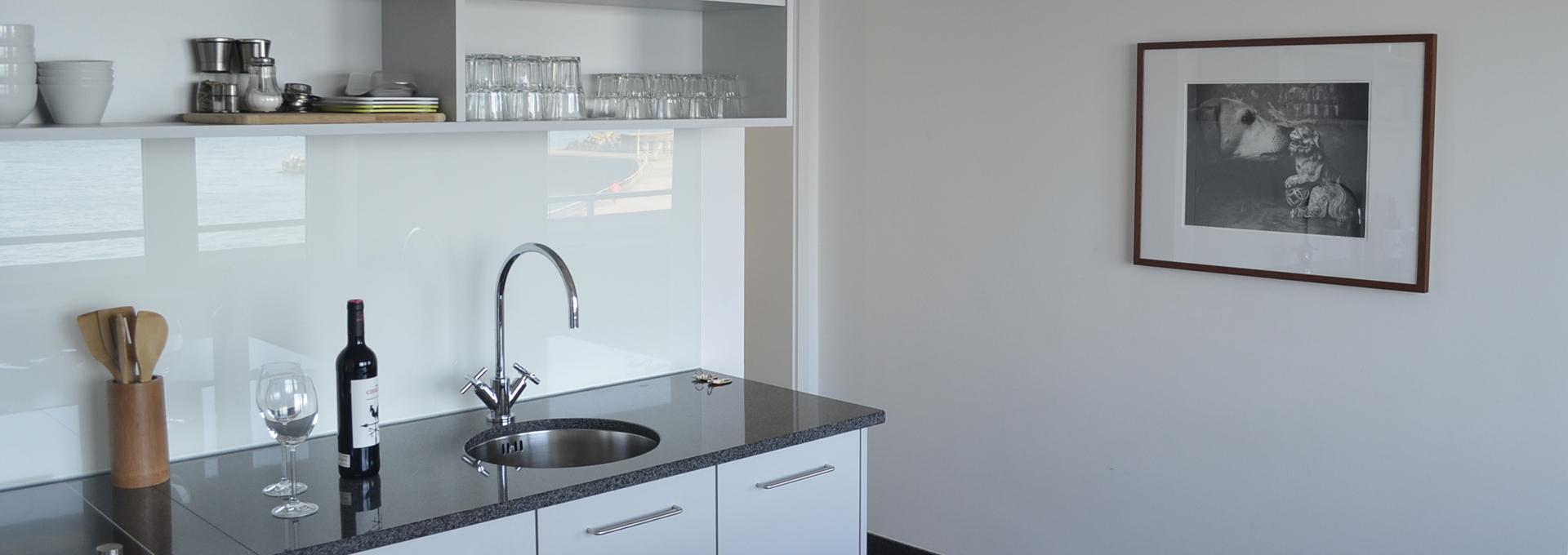 Dünenblick Apartments Helgoland Sino Küche