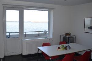 Dünenblick Apartments Helgoland Sino Fensterblick Meer