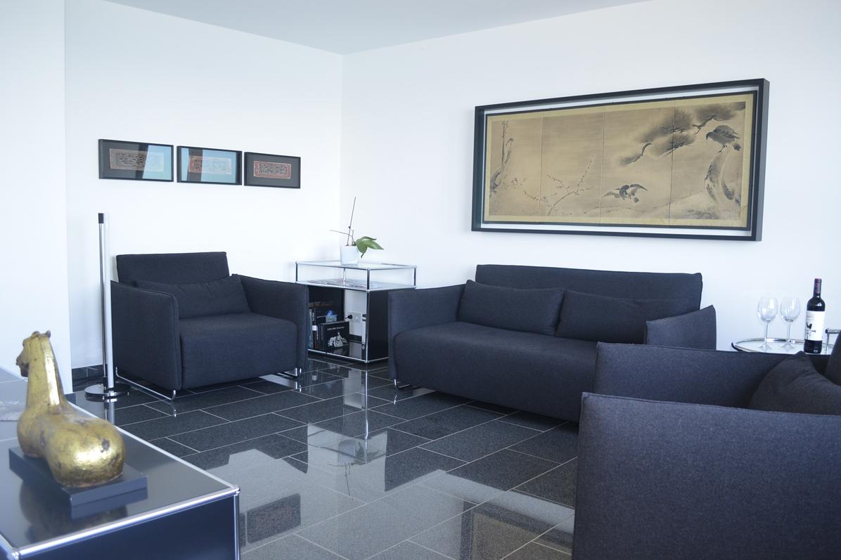 Dünenblick Apartments Helgoland Sino Wohnzimmer